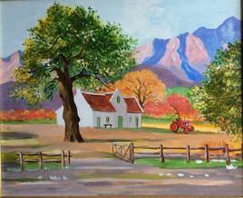 Paysage Afrique du Sud.