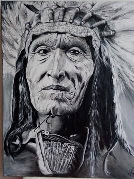 Portrait indien