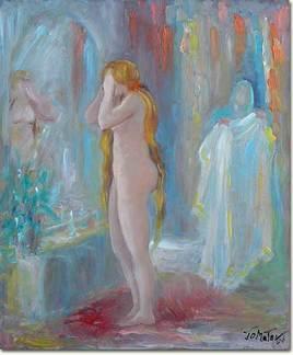 Madelaine au miroir