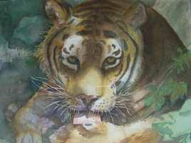 Le repos du tigre