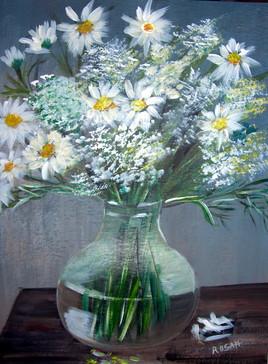 Le bouquet blanc (vendu)