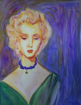 Marilyn à la perle