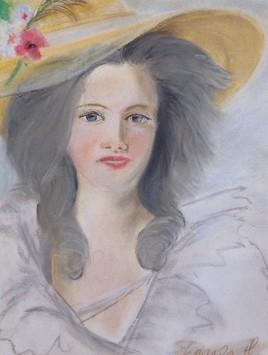 Portrait de madame de Polignac