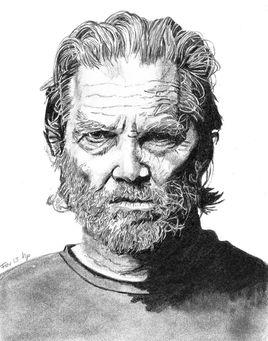 Jeff Bridges - portrait