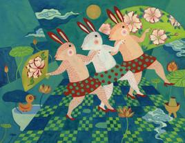 trois lapins