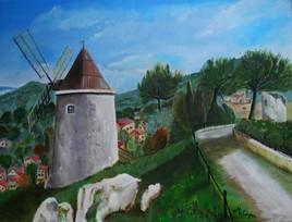 Moulin Maurel à Allauch