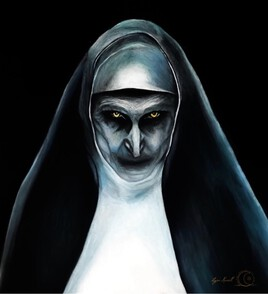The nun Portrait
