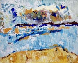 Le vent sur la mer