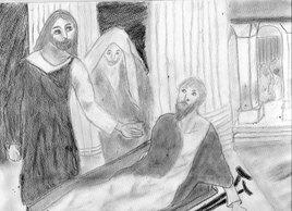 Guérison du paralytique de la piscine de Bethdesda