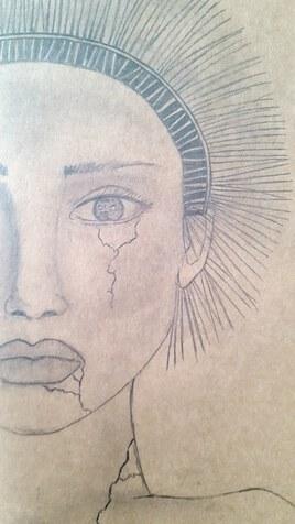 La femme fendue