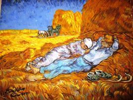 La Sieste (d'après Vincent Van Gogh)