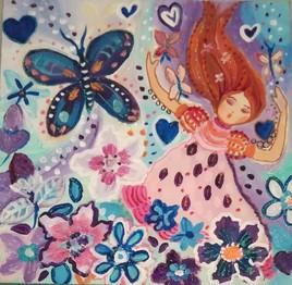 Danse avec les papillons
