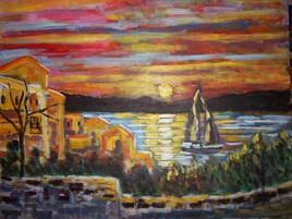 st croix du verdon sunset  ( BAKA 2015