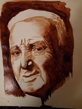 Charles Aznavour ( Café / Papier )