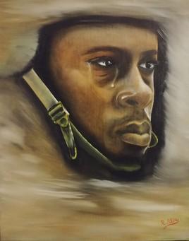 Le soldat qui pleure