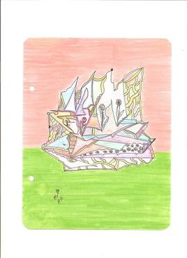 Dessin abstrait 23