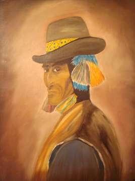 péruvien à ponpons