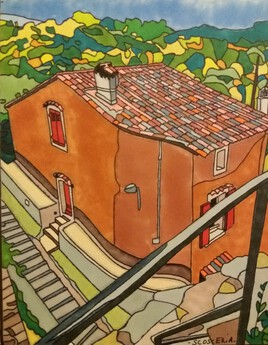 Maison brune de Varages