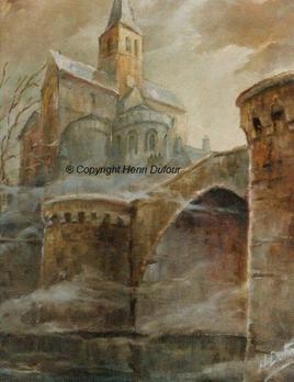 Montmorillon pont gothique