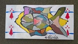 hermines et poisson