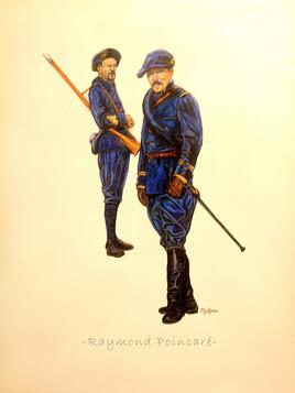 CHASSEUR ALPIN 1897 Raymond Poincaré
