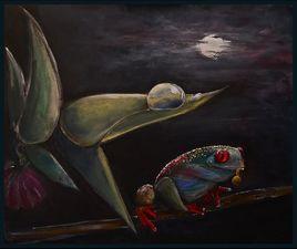 Triptyque: Le Prince flamand, La grenouille aux bijoux