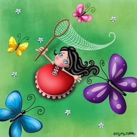 Aime-Moi et les papillons by Myria-Moon