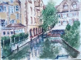 Colmar la petite Venise.