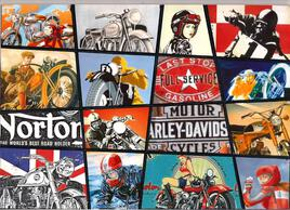 vieux motard que j'aimais