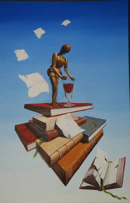 Livres, est-ce de la connaissance? -L'ivresse de la connaissance.