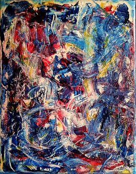 acrylics sur toile 27 x 35 2013