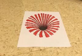 Dessin 3D.... le trou noir
