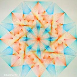 enchevêtrement géométrique ..