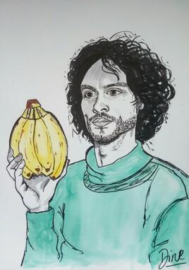 Garde la banane copain !
