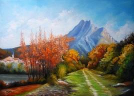 Sisteron - Le rocher de la Baume