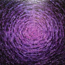 Éclat de couleur violet