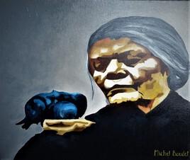 La vielle dame et l'oiseau