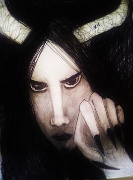 Portrait du MINOTAURE de Vanessa Martinez Volterra
