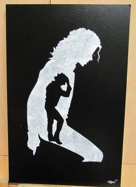 Michael Jackson en Spraypainting