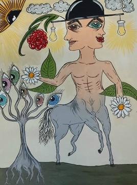 Centaure au couvre-chef