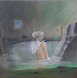 Le bain de l'elfe