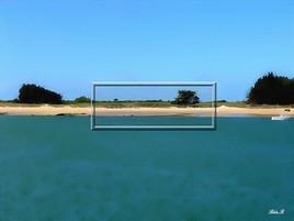 Cadre de plage