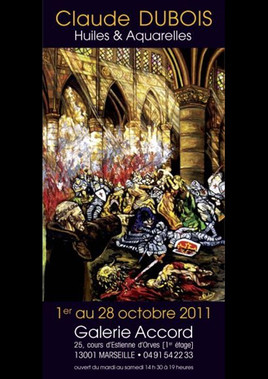 1 to 28 October 2011  Claude Dubois (FIN of Carriere of the painter)