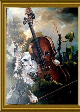 Le chat et le violon
