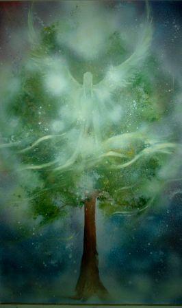 l'ange de l'arbre