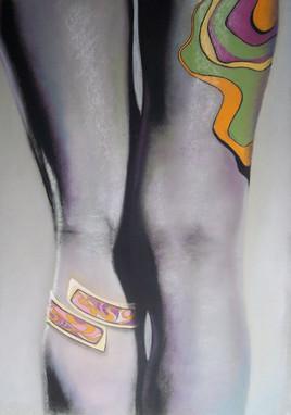 Tatouages sur jambes