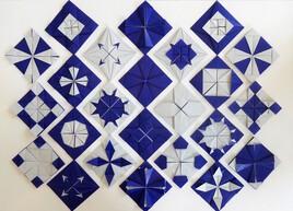 Les mosaïques en origami