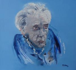 Portrait bleu ( 2014 )