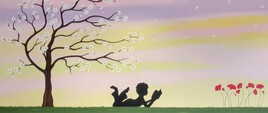Lire sous un arbre