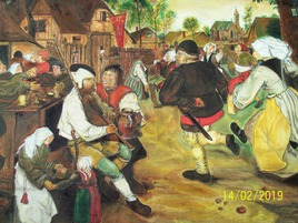 Bruegel Pieter copie pour Galerie Parisienne